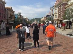 Main Street Disneyland HK